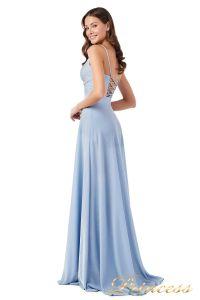 Вечернее платье 227503 b. Цвет голубой. Вид 3