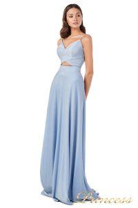 Вечернее платье 227503 b. Цвет голубой. Вид 4