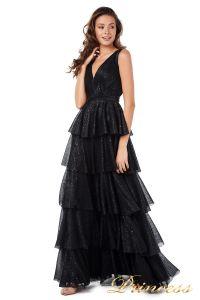 Вечернее платье 227604-black. Цвет чёрный. Вид 2