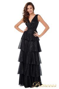 Вечернее платье 227604-black. Цвет чёрный. Вид 1