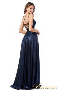 Вечернее платье 227633 N. Цвет синий. Вид 2