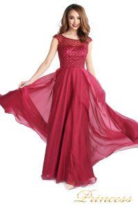 Вечернее платье 24166-052 marsala. Цвет малиновый. Вид 2