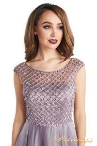Вечернее платье 24166-167 dark-pink. Цвет розовый. Вид 4