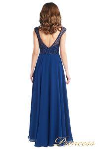 Вечернее платье 24166-240B navy. Цвет синий. Вид 2