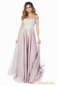 Вечернее платье 24186-1 rose. Цвет серебро. Вид 2