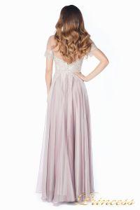 Вечернее платье 24186-1 rose. Цвет серебро. Вид 4