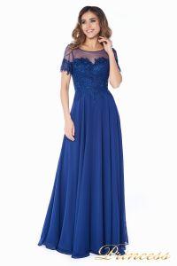 Вечернее платье 246194 navy. Цвет синий. Вид 2