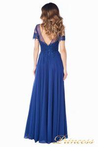 Вечернее платье 246194 navy. Цвет синий. Вид 3