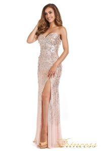Вечернее платье 249833-nude. Цвет розовый. Вид 2