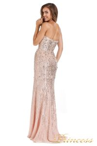 Вечернее платье 249833-nude. Цвет розовый. Вид 3