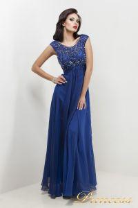 Вечернее платье 2630 N. Цвет электрик . Вид 2