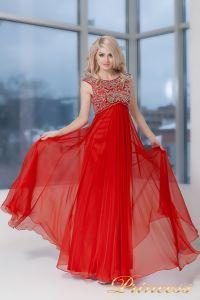 Вечернее платье 2630-2 RED . Цвет красный. Вид 4