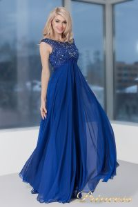 Вечернее платье 2630 N. Цвет электрик . Вид 4