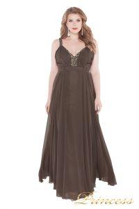 Вечернее платье 276 . Цвет коричневый. Вид 2
