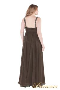 Вечернее платье 276 . Цвет коричневый. Вид 4