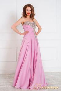 Вечернее платье 309. Цвет розовый. Вид 2