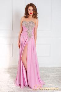 Вечернее платье 309. Цвет розовый. Вид 1