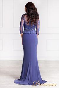 Вечернее платье 3199. Цвет фиолетовый. Вид 3