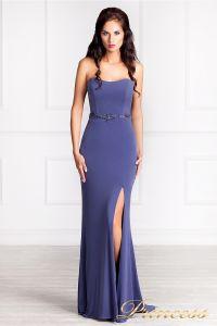 Вечернее платье 3199. Цвет фиолетовый. Вид 4