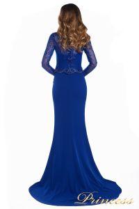 Вечернее платье 3200_royal. Цвет электрик . Вид 7