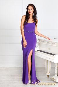 Вечернее платье 3200N. Цвет фиолетовый. Вид 4