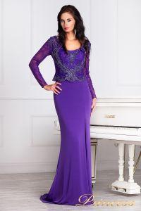 Вечернее платье 3200N. Цвет фиолетовый. Вид 1