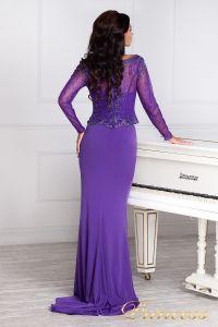 Вечернее платье 3200N. Цвет фиолетовый. Вид 5