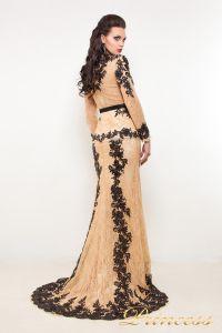 Вечернее платье 32289. Цвет чёрный. Вид 2