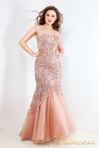Вечернее платье 3557. Цвет розовый. Вид 1