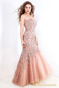 Вечернее платье 3557. Цвет розовый. Вид 2