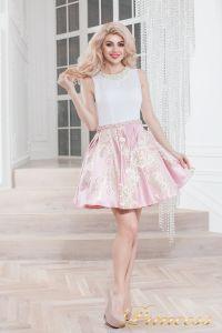 Вечернее платье 359 pink. Цвет розовый. Вид 2