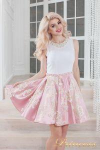 Вечернее платье 359 pink. Цвет розовый. Вид 1