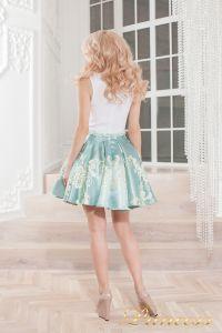 Вечернее платье 359 blue. Цвет голубой. Вид 3