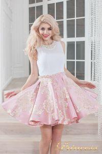 Вечернее платье 359 pink. Цвет розовый. Вид 3