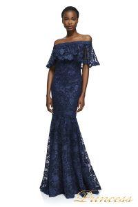Вечернее платье Tadashi Shoji AYB17430L NAVY. Цвет синий. Вид 1
