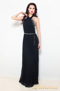 Вечернее платье 3947. Цвет чёрный. Вид 1