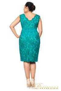 Коктейльное платье 896 MXA. Цвет зеленый. Вид 2