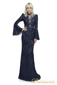 Вечернее платье Tadashi Shoji AYV17735L NV ND. Цвет синий. Вид 1