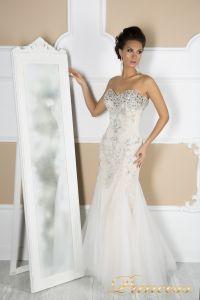 Свадебное платье 4674. Цвет пастельный. Вид 1