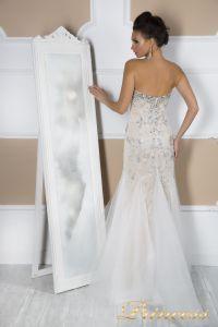 Свадебное платье 4674. Цвет пастельный. Вид 5