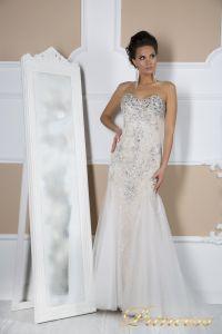 Свадебное платье 4674. Цвет пастельный. Вид 4