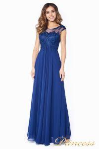 Вечернее платье 4675-1 navy. Цвет синий. Вид 2
