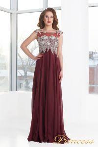 Вечернее платье 4675 - Marsala. Цвет красный. Вид 1