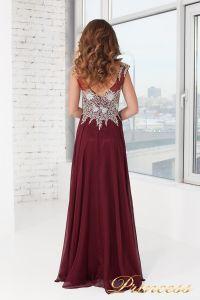 Вечернее платье 4675 - Marsala. Цвет красный. Вид 2