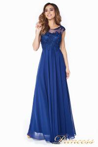Вечернее платье 4675-1 navy. Цвет синий. Вид 4