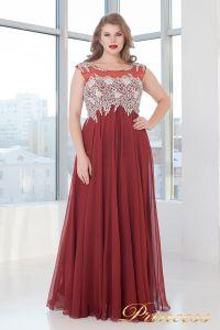 Вечернее платье 4675 D. Цвет терракотовый. Вид 2
