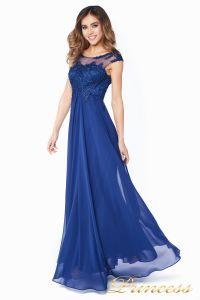 Вечернее платье 4675-1 navy. Цвет синий. Вид 6