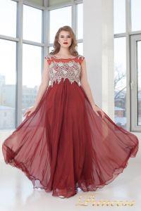 Вечернее платье 4675 D. Цвет терракотовый. Вид 3