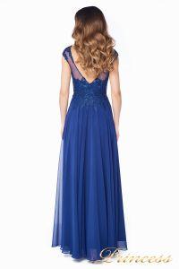 Вечернее платье 4675-1 navy. Цвет синий. Вид 7