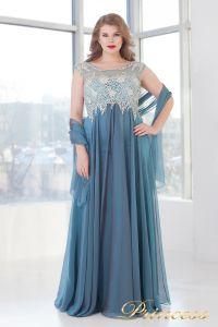 Вечернее платье 4675 B. Цвет пастельный. Вид 2